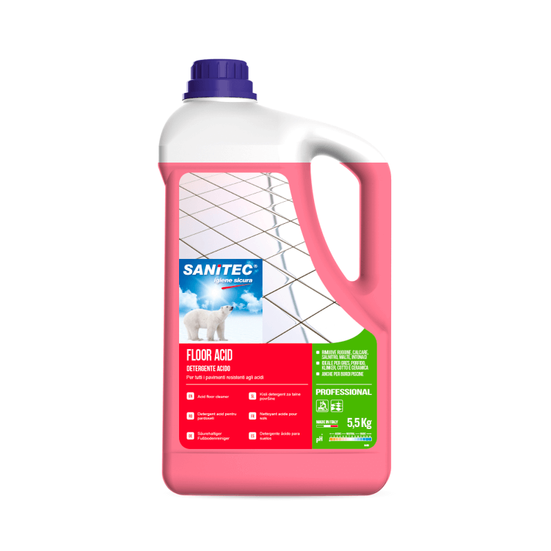 Acidic Descaling Floor Cleaner