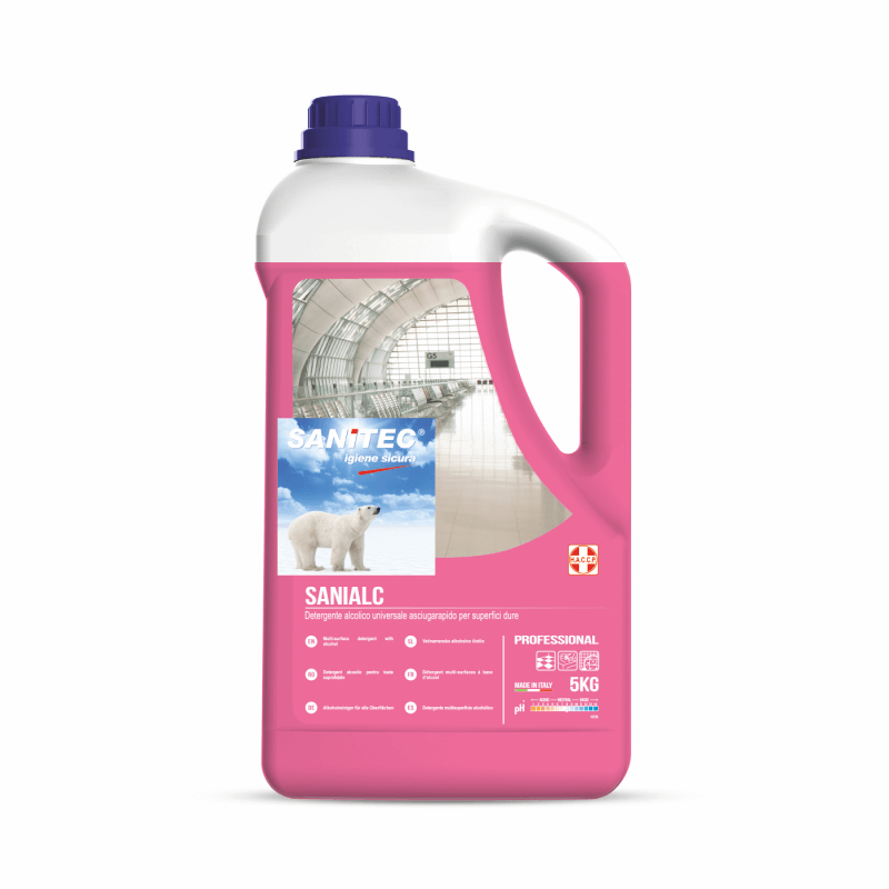 Alcohol Based Quick Drying Floor Cleaner