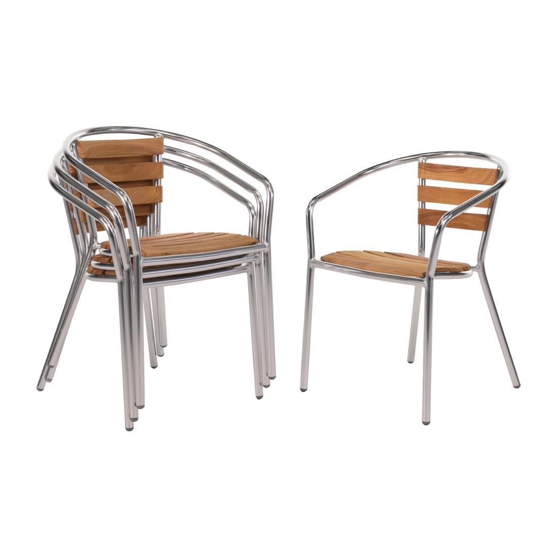 Aluminium + Ash Chair U42