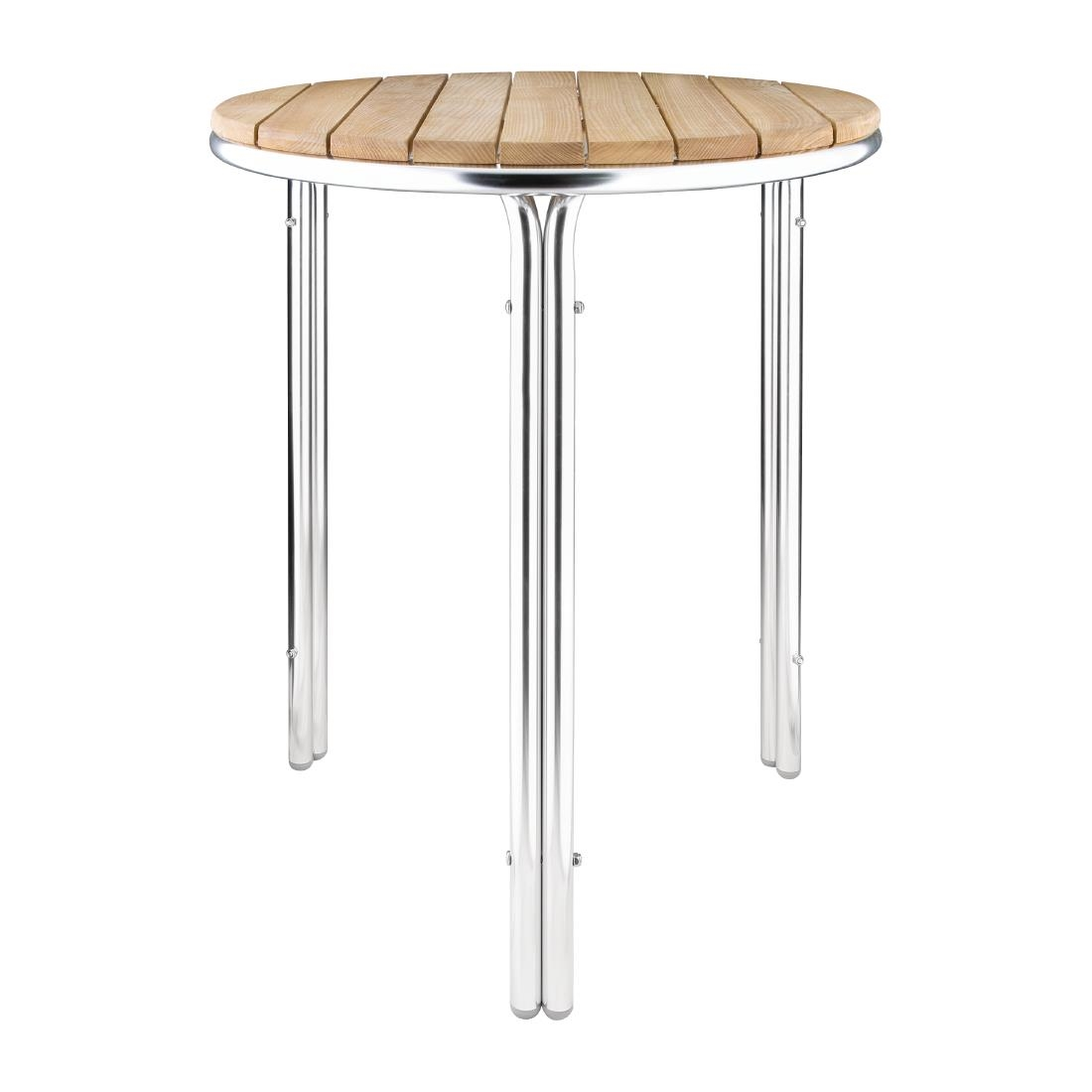 Aluminium + Ash Table GL98 - Round