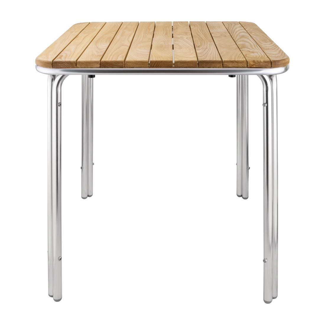 Aluminium + Ash Table GL98 - Square