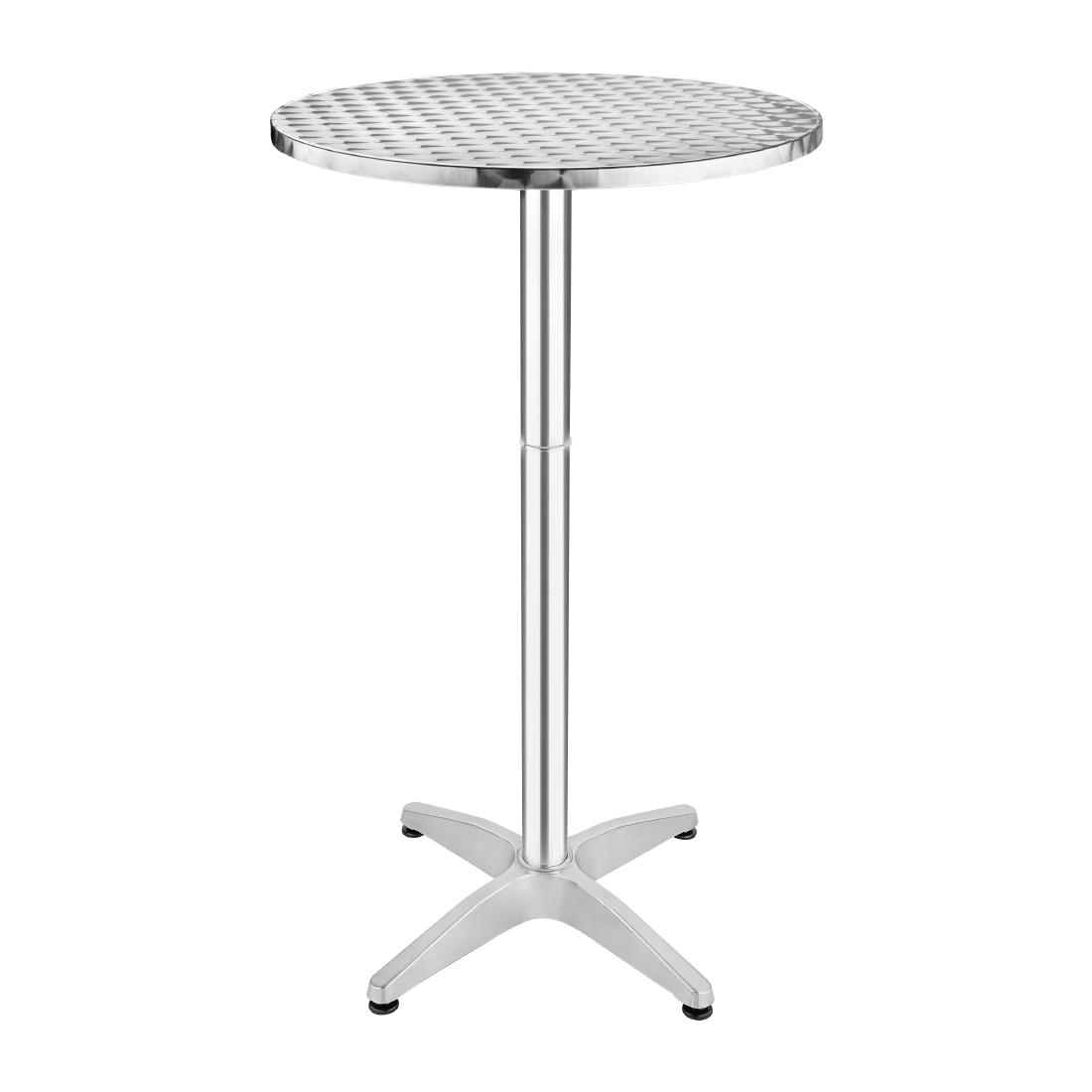 Aluminium Poseur Table GF39