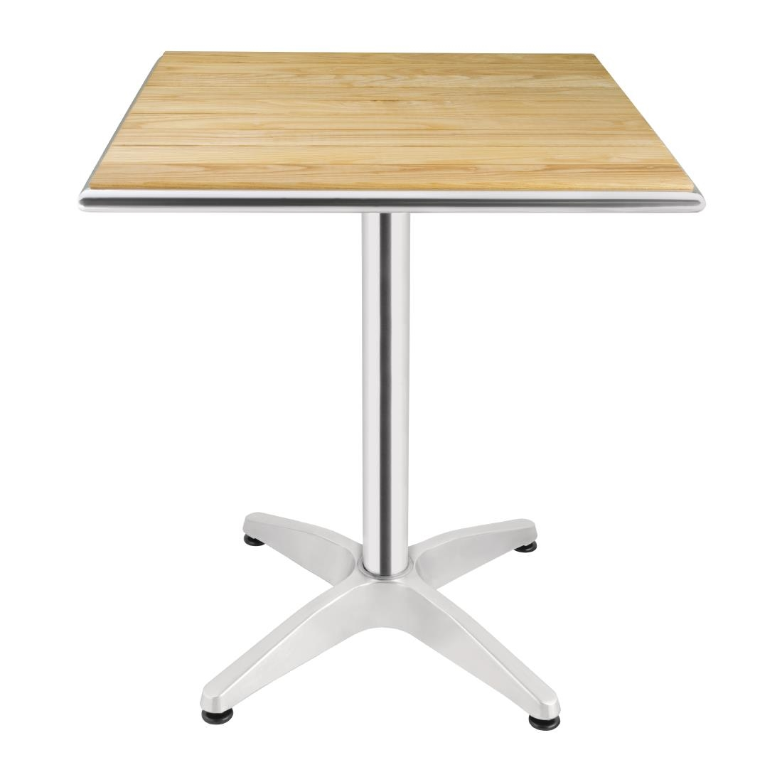 Ash Top Bistro Table U43 - Square