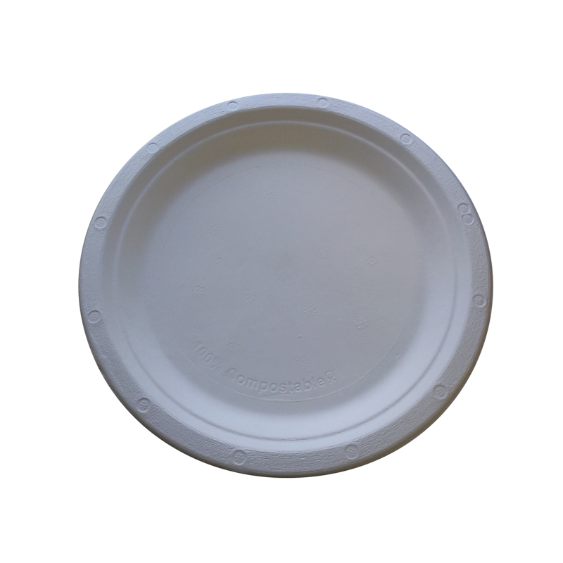 Bagasse Plate 7 Inch And 9 Inch