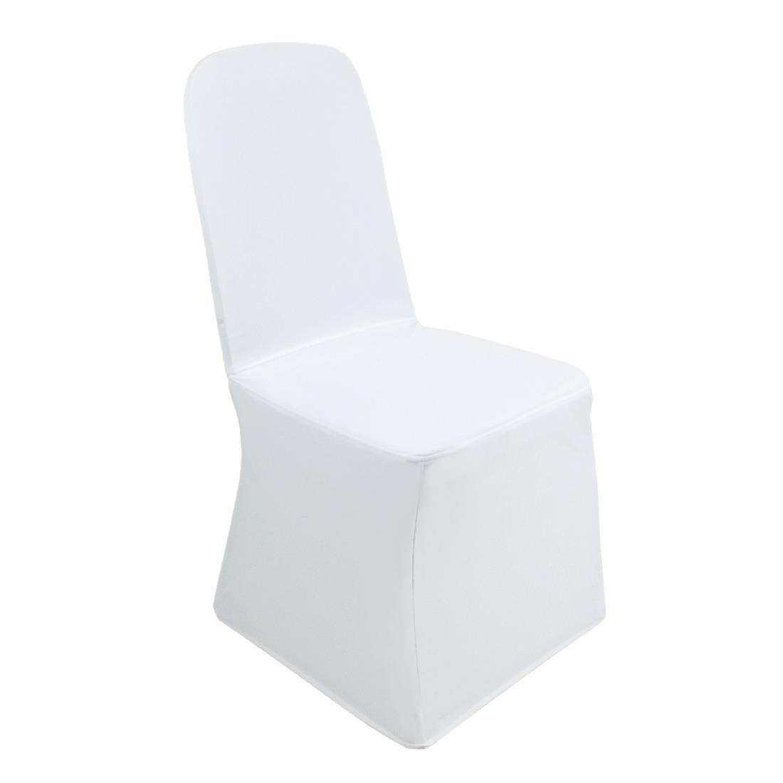 Banquet Chair Cover - White