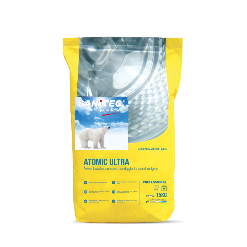 Biological Laundry Powder With Oxygen Bleach