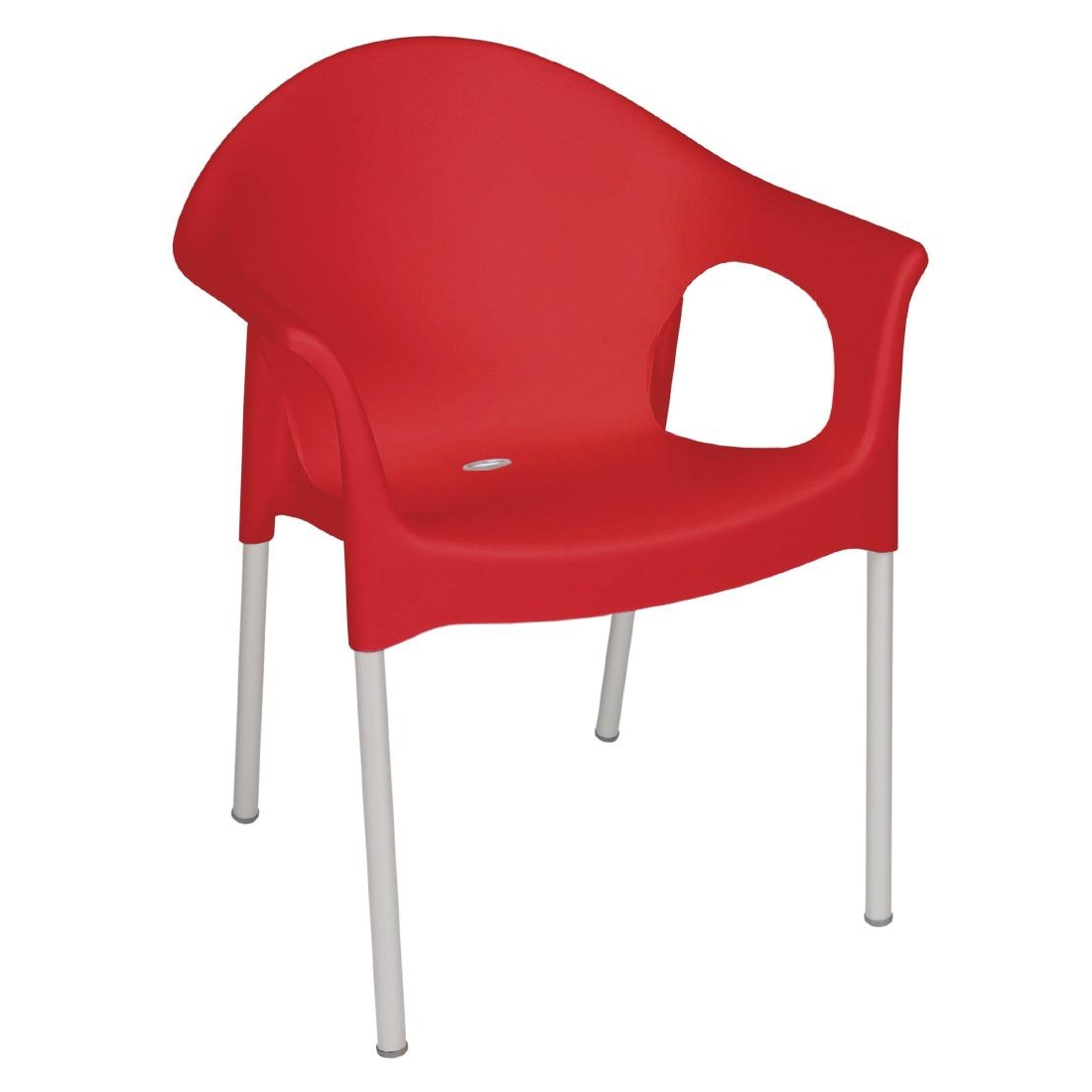 Bistro Armchair - Red