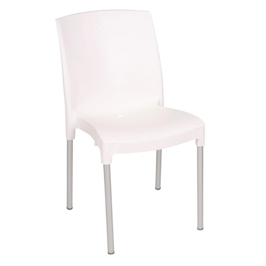 Bistro Side Chair - White