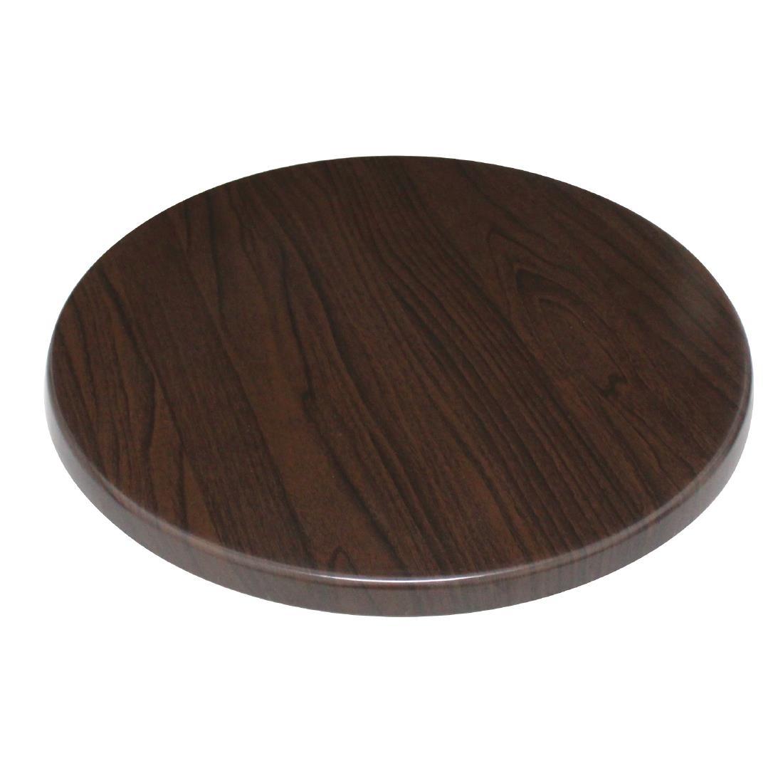 Bolero Round - Dark Brown