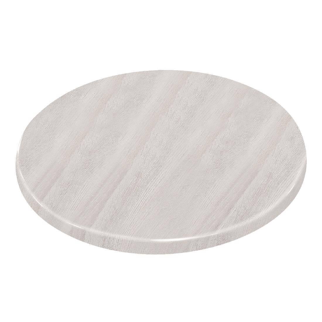 Bolero Round - Whitewash