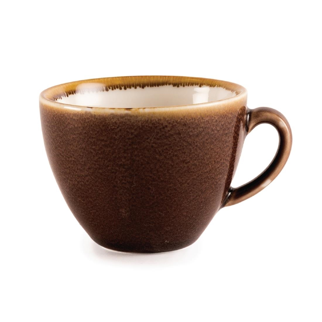 Coffee + Cappuccino Cup - Bark