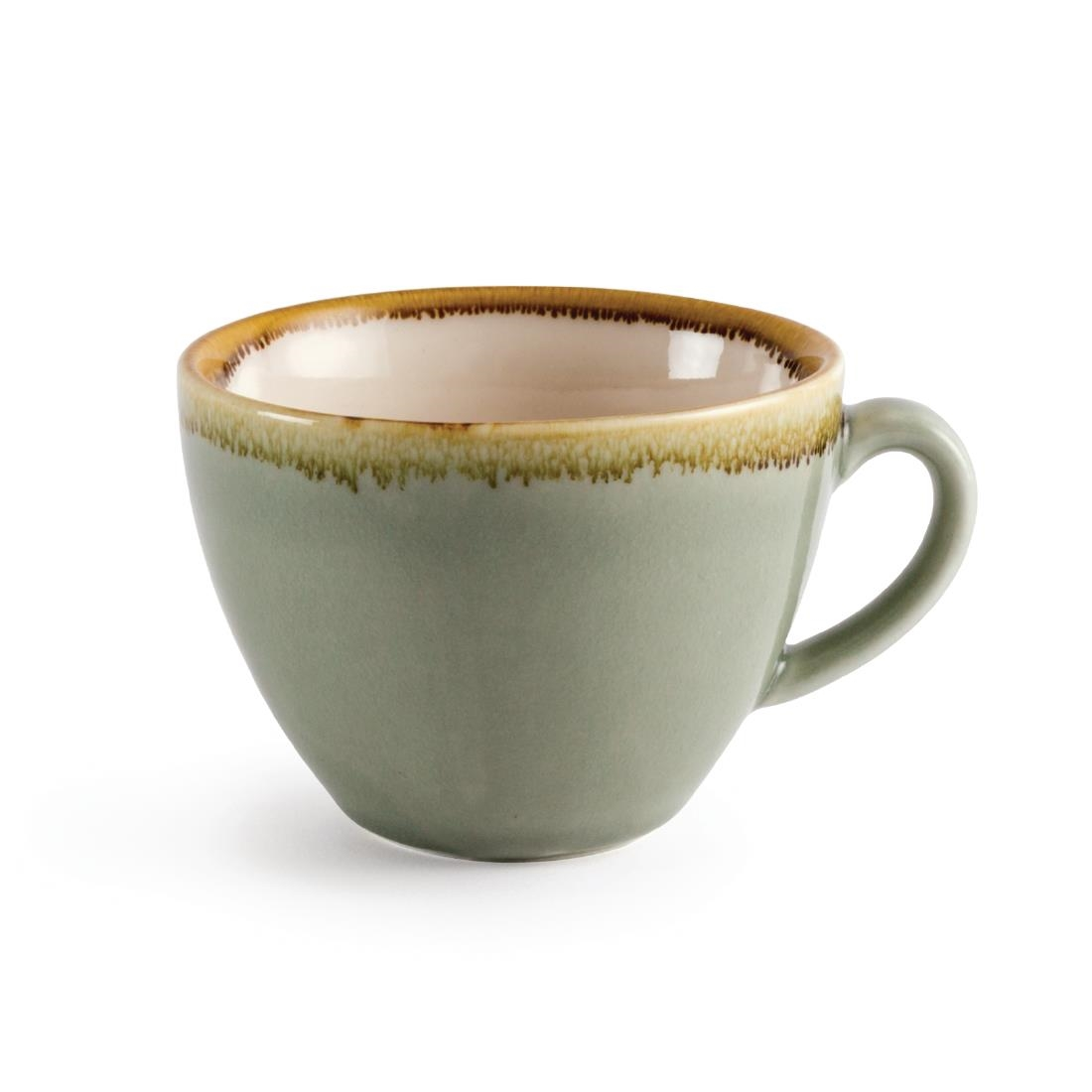 Coffee + Cappuccino Cup - Moss