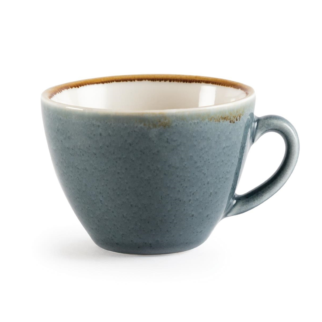 Coffee + Cappuccino Cup - Ocean