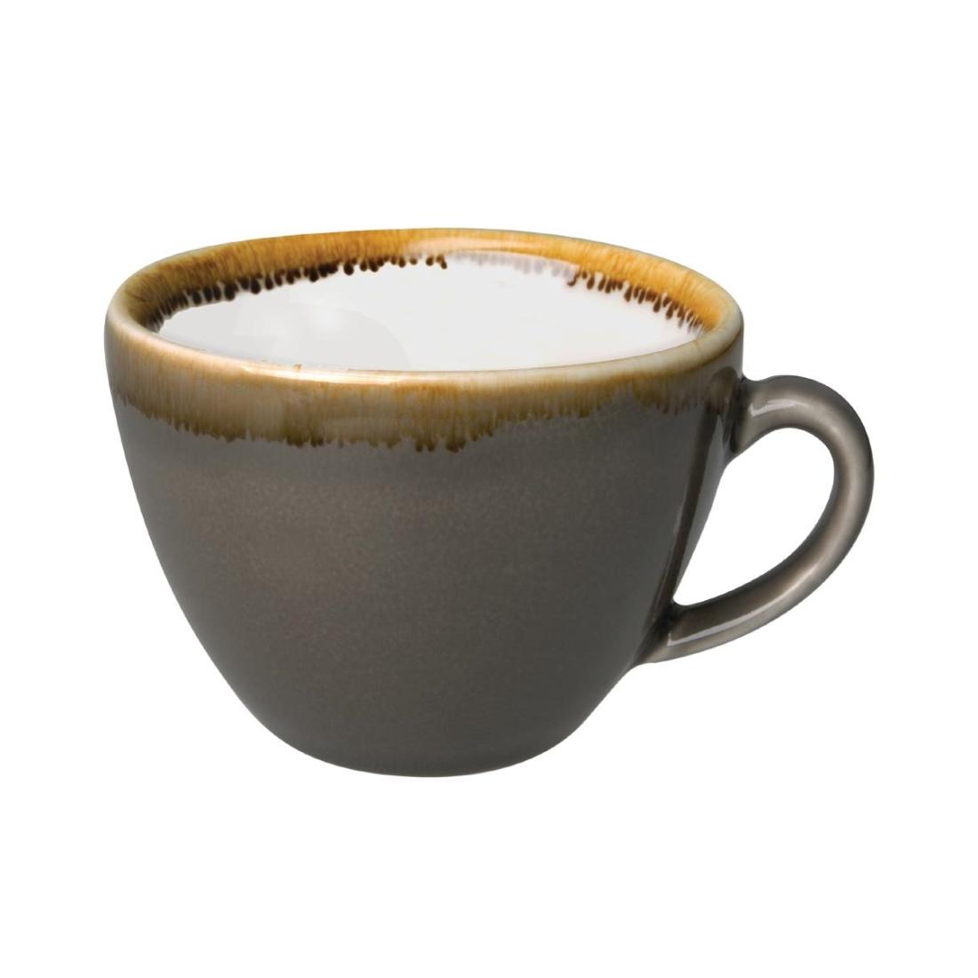 Coffee + Cappuccino Cup - Smoke