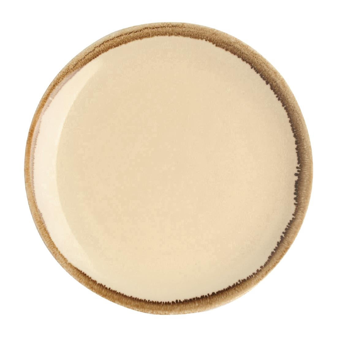 Coupe Plate - Sandstone