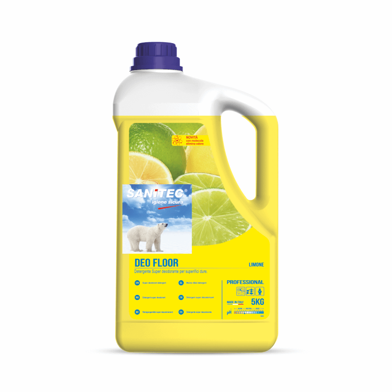 Deo Floor Cleaner + Deodouriser - Lemon