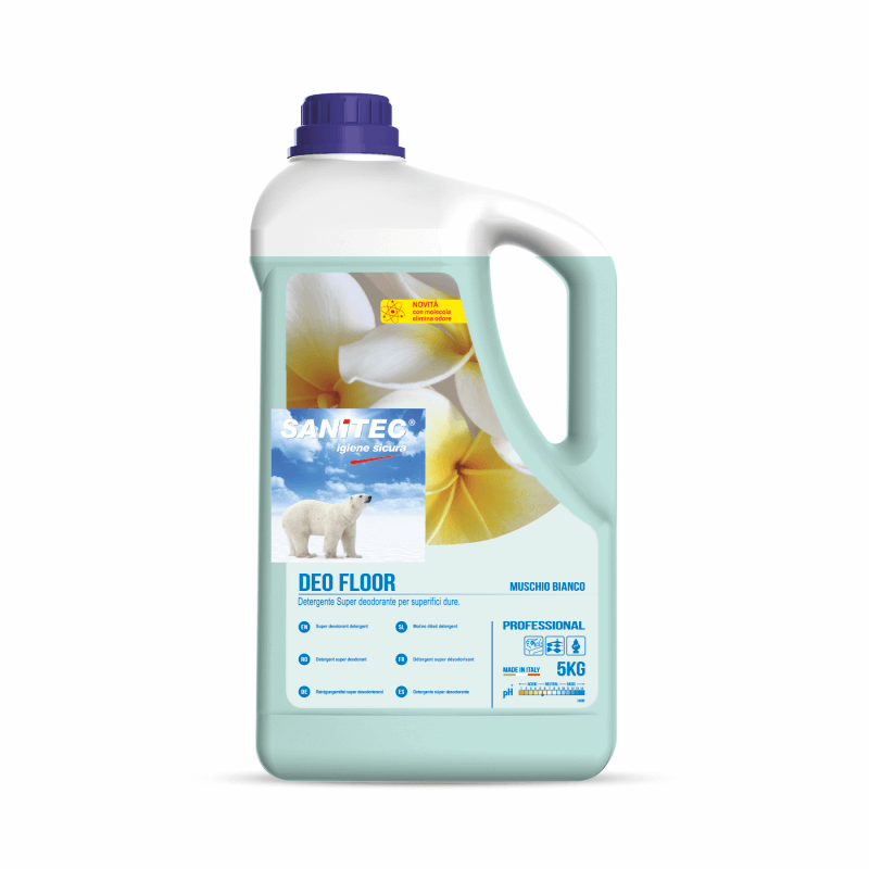 Deo Floor Cleaner and Deodouriser - White Musk
