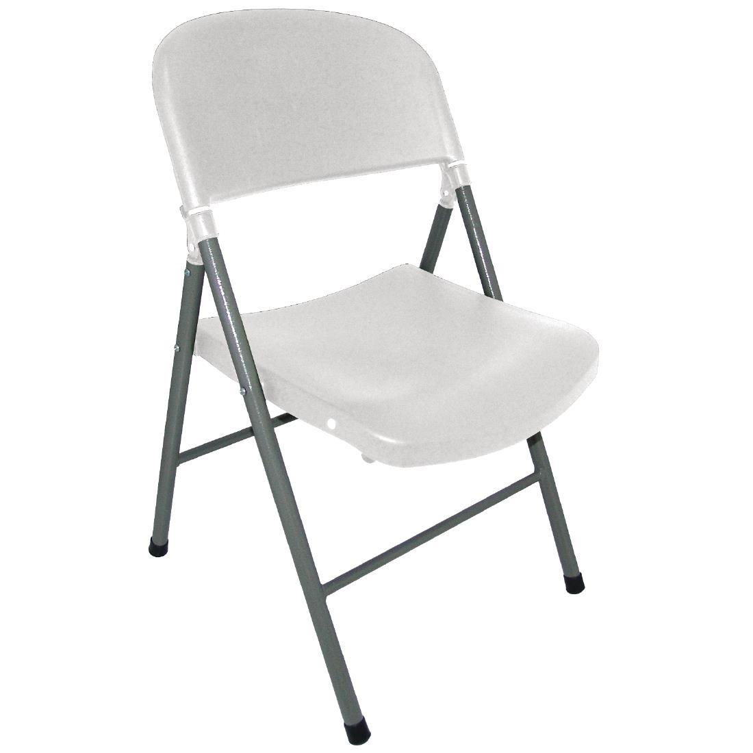 Foldaway Chair - White