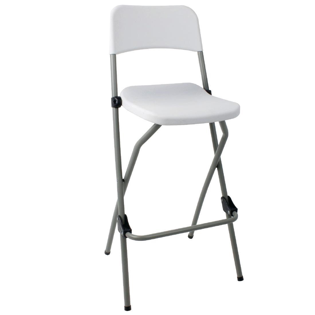 Folding Poseur Chair