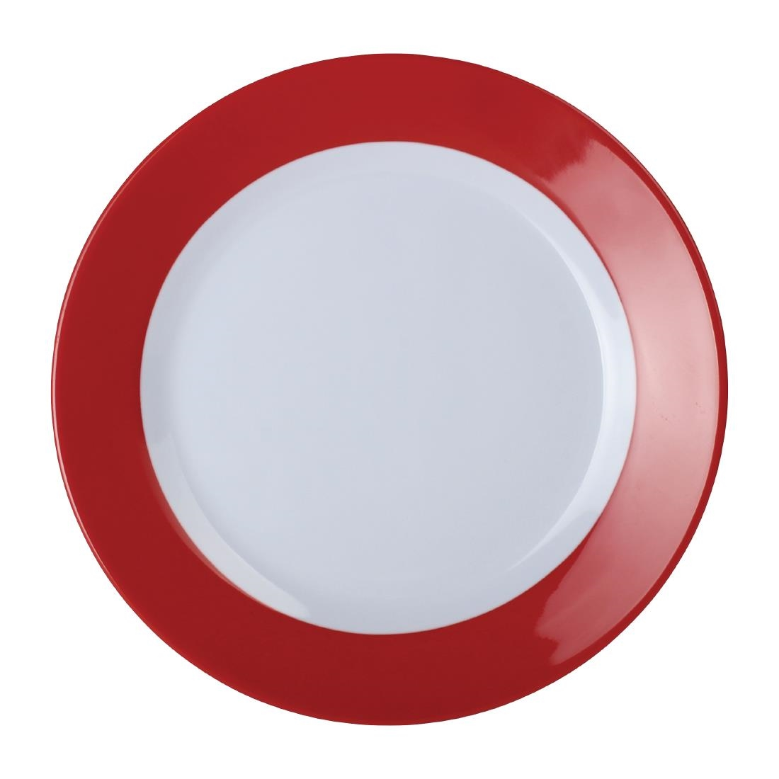Gala Plate - Red