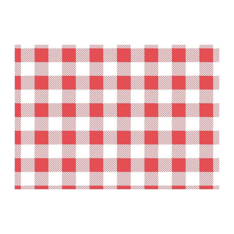 Gingham Greaseproof Paper