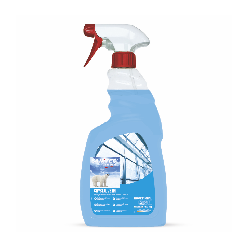Glass, Mirror + Chrome Cleaner 750ml