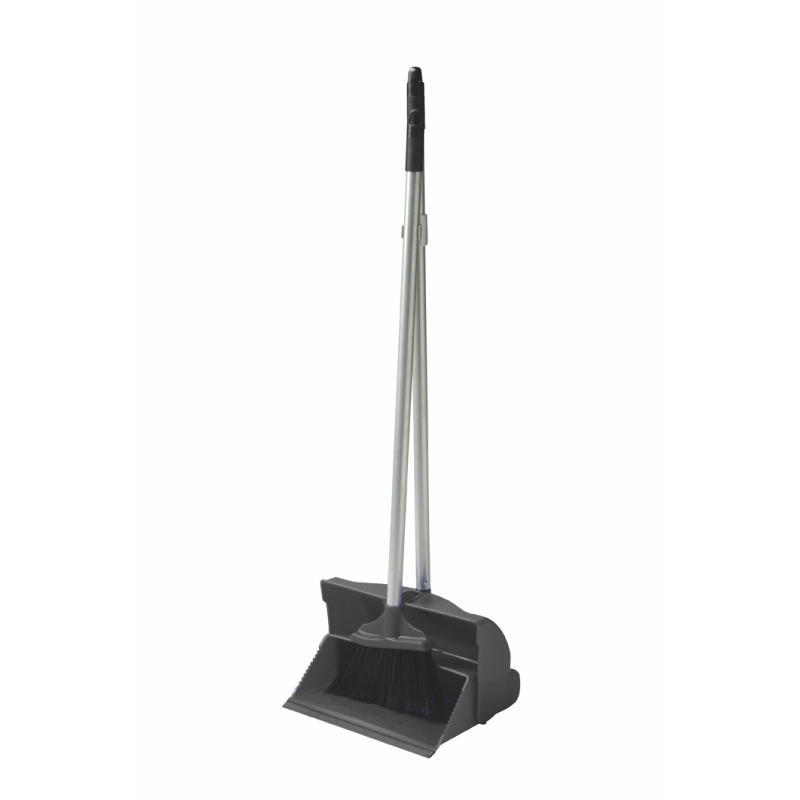 Long Handle Dustpan + Brush Set