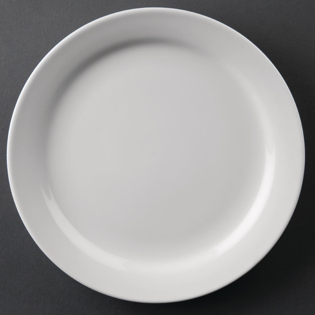 Narrow Rimmed Plate