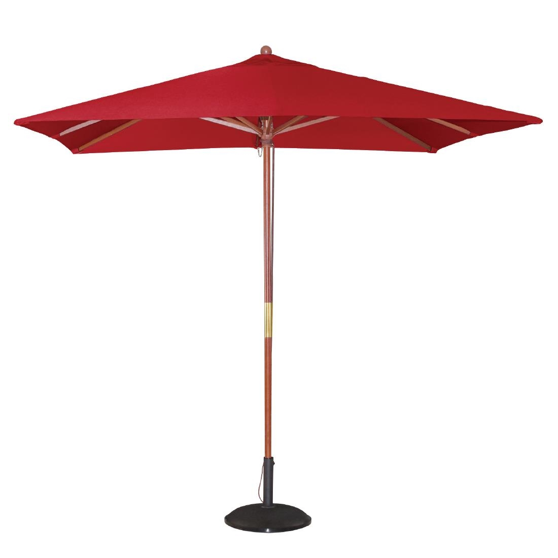 Parasol Square - Red