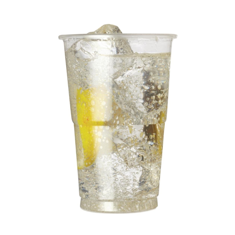 Plastic Half Pint Glass
