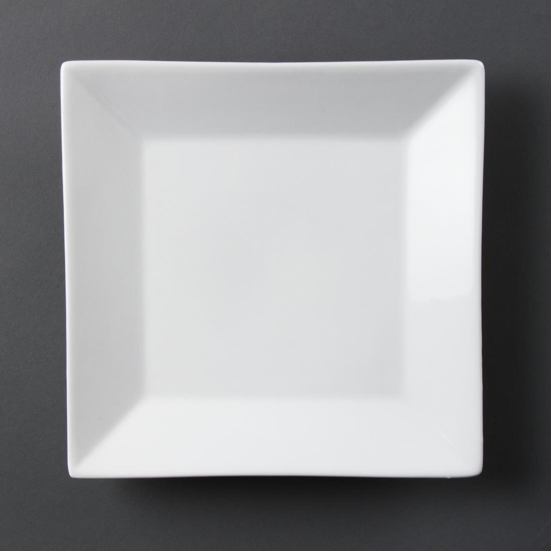 Wide Rim Square Plate