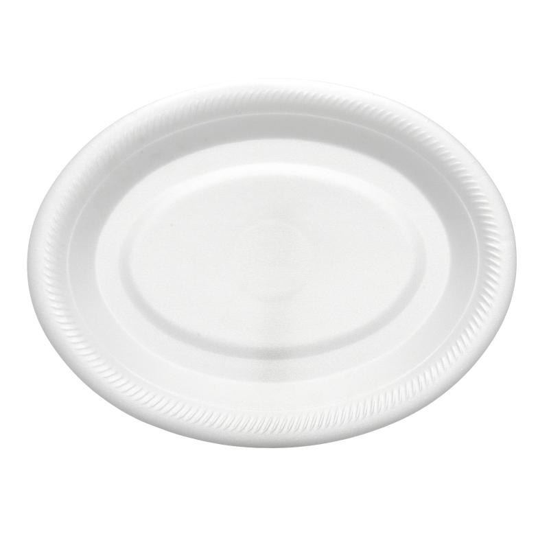 Rigid Foam Oval Plate