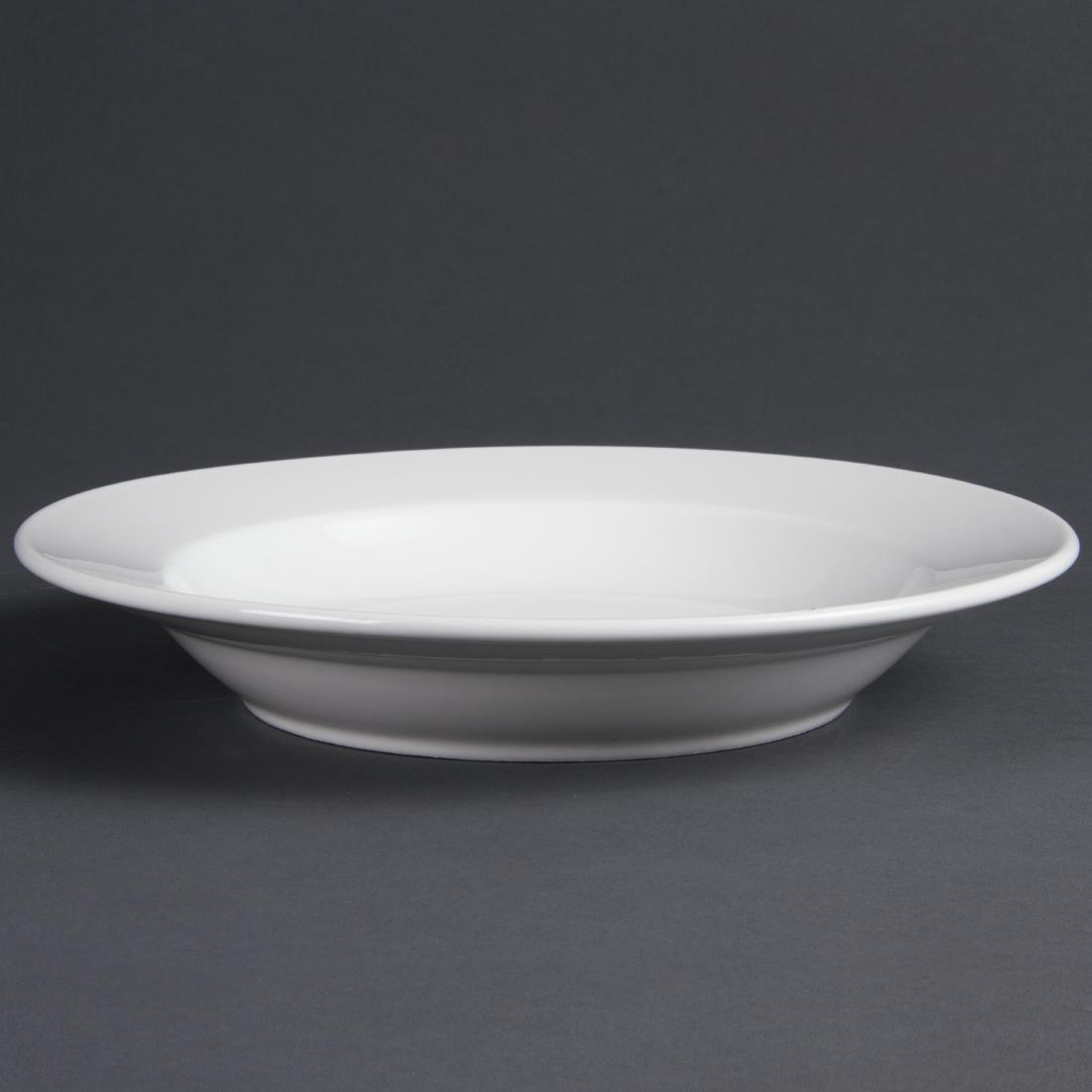Rimmed Deep Plate