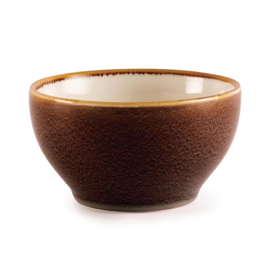 Round Bowl - Bark