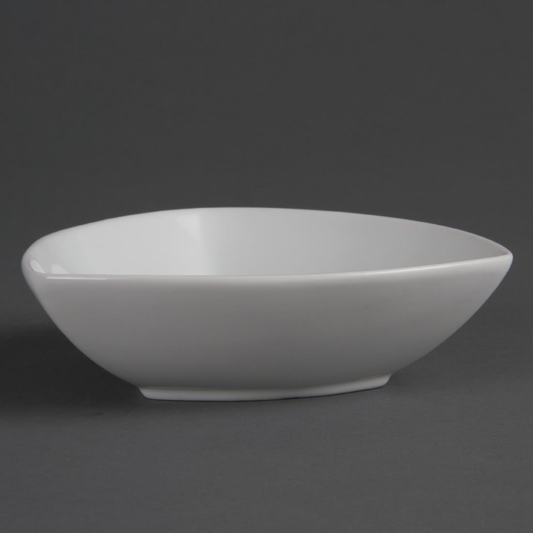 Rounded Triangular Bowl