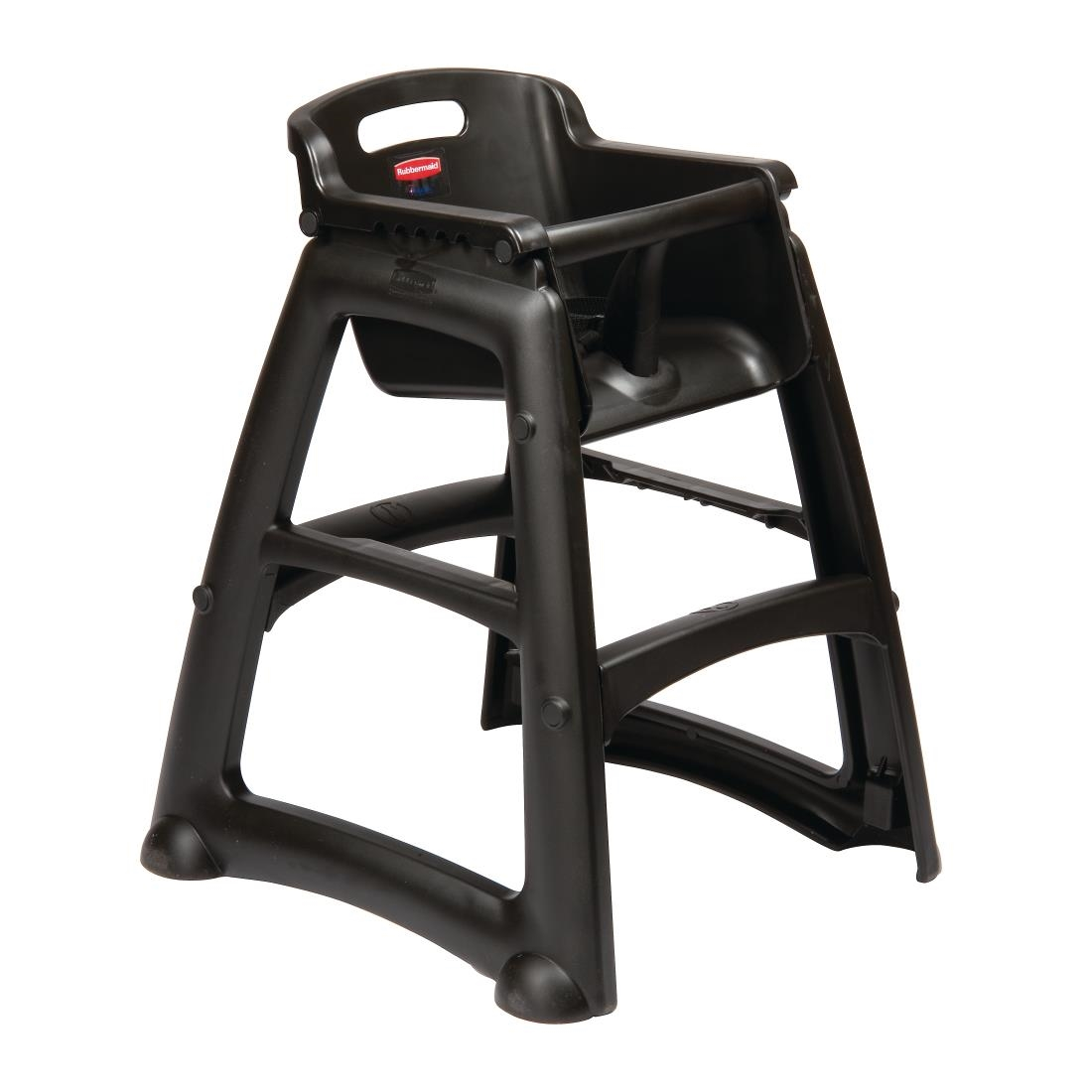 Rubbermaid High Chair - Black