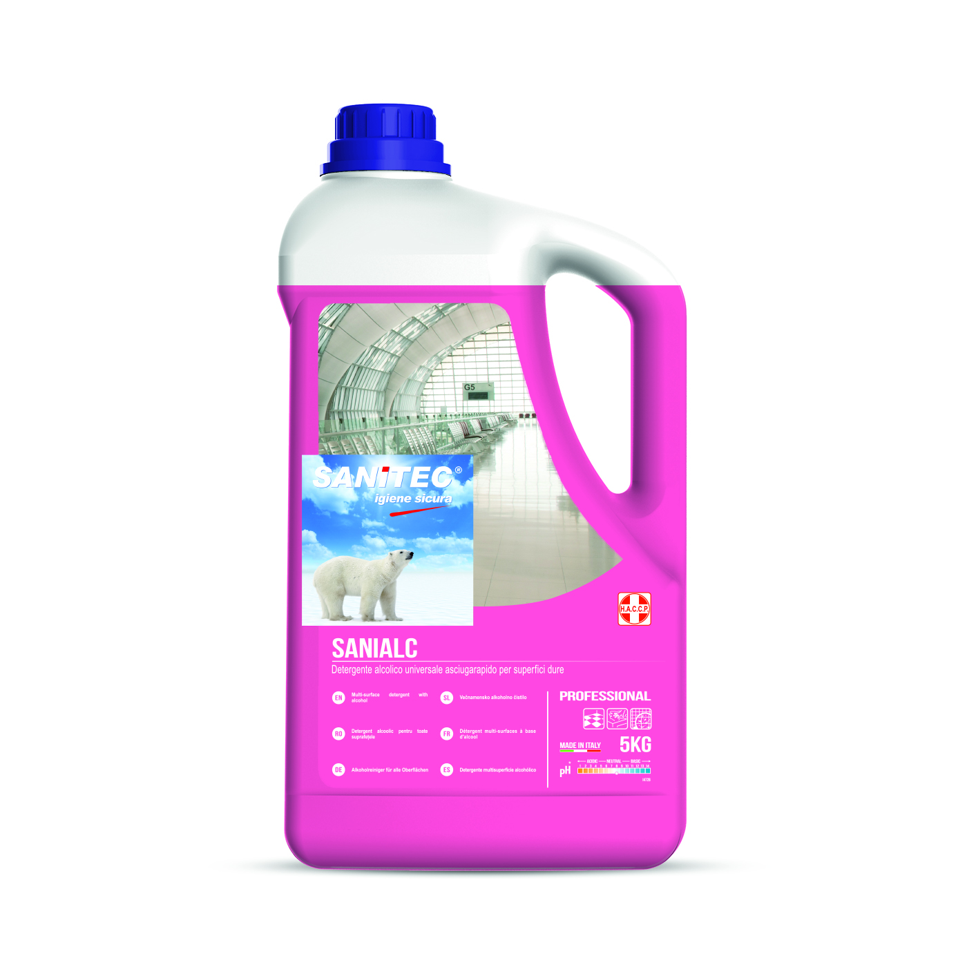 Sanialc Alcohol Based Multi Surface Cleaner