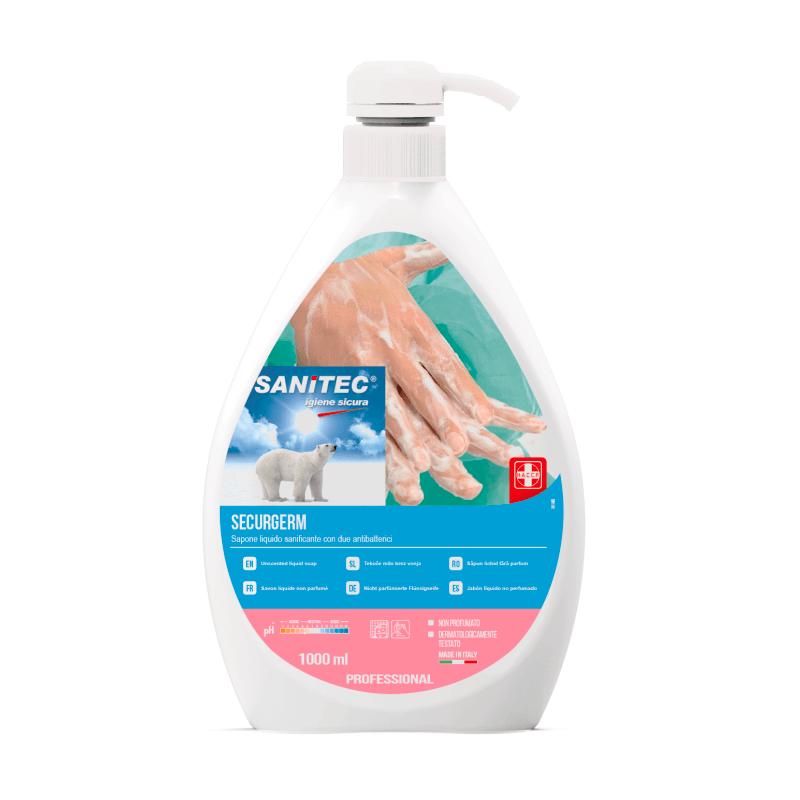 Securgerm Unscented Anti-Bac Liquid Soap