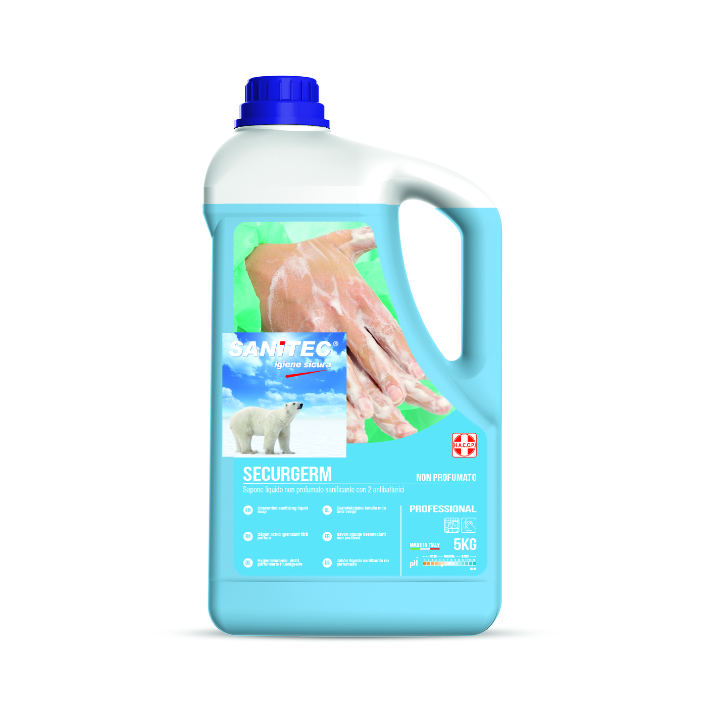 Securgerm Anti-Bac Liquid Soap