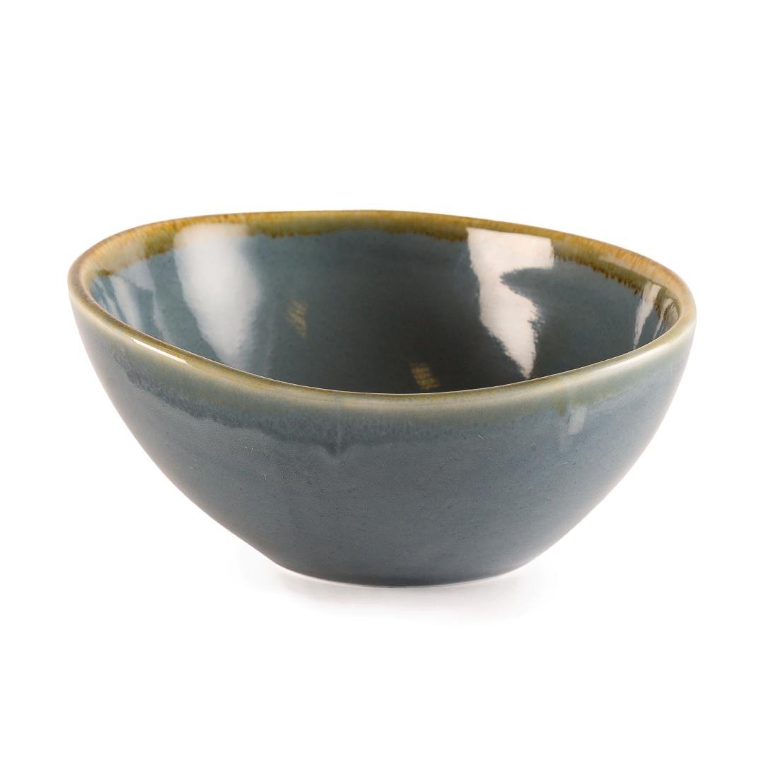 Sloping Bowl - Ocean