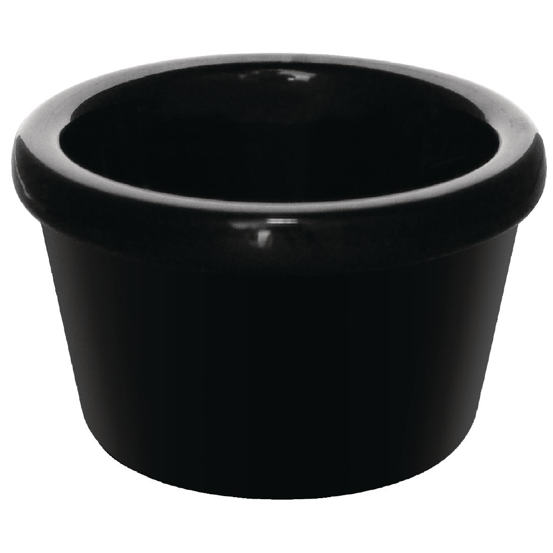 Smooth Ramekin - Black