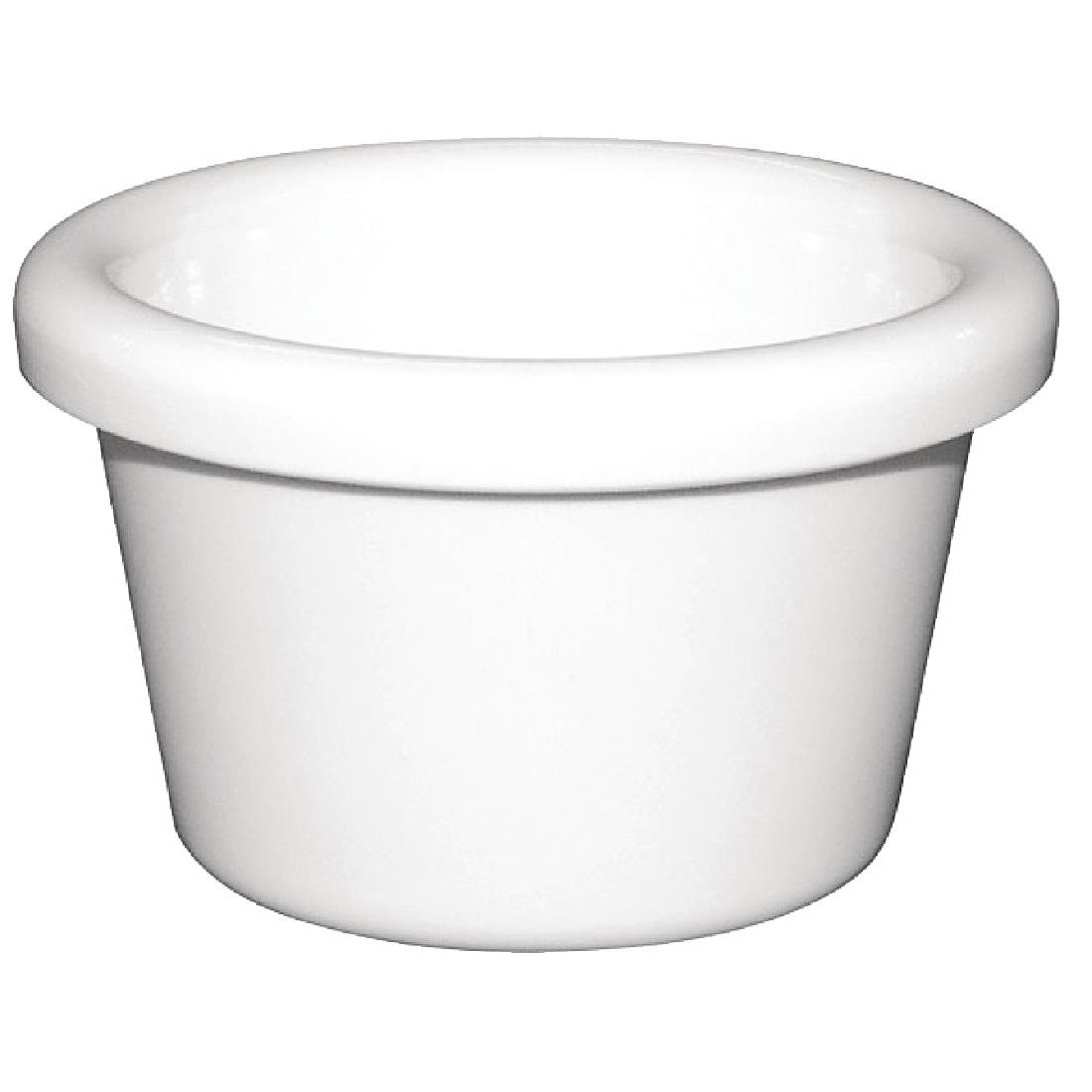 Smooth Ramekin - White