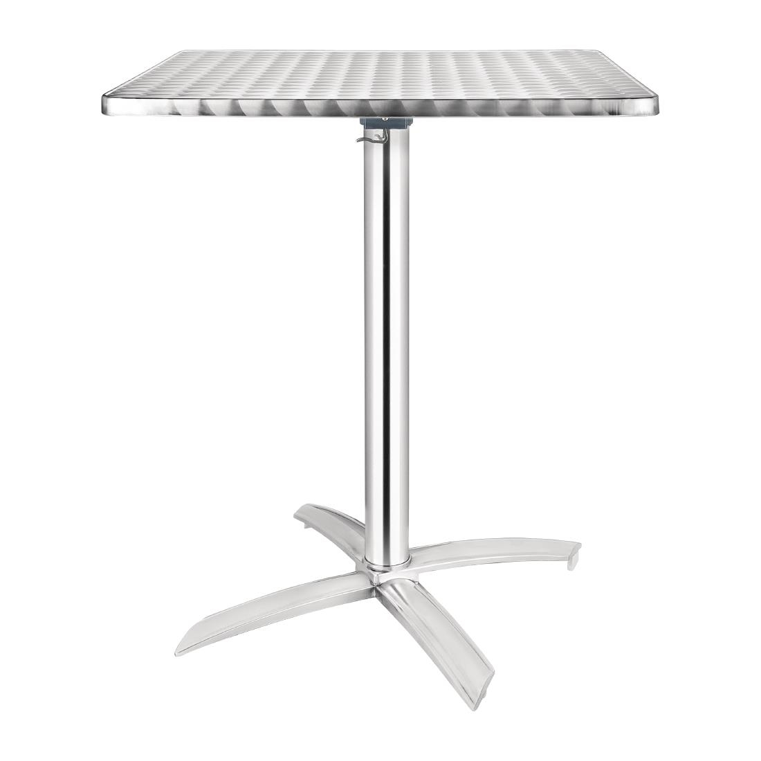 Stainless Steel Flip Top Table CG83 - Square