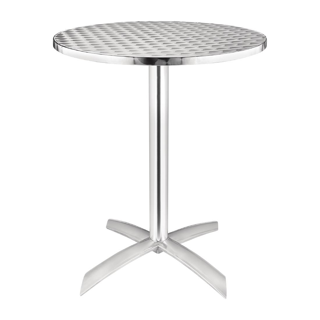 Stainless Steel Flip Top Table U42 - Round