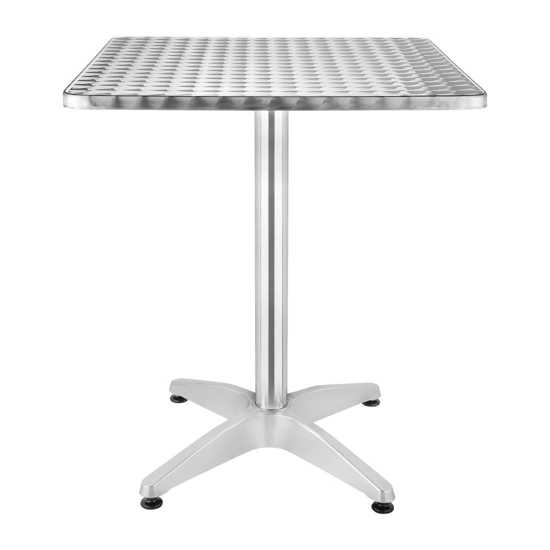 Stainless Steel Square Table U42