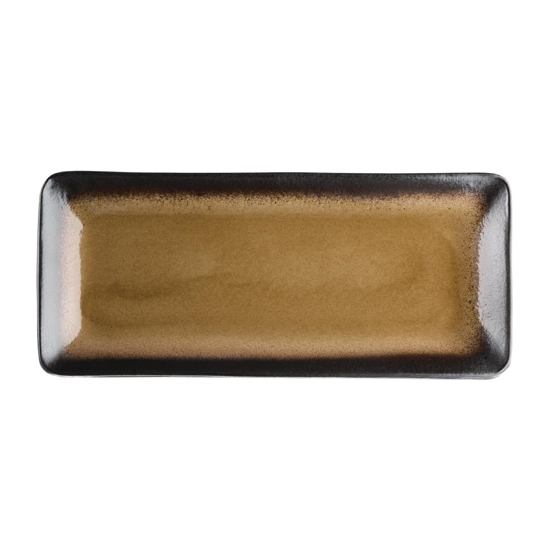 Tapas Rectangular Plate - Yellow