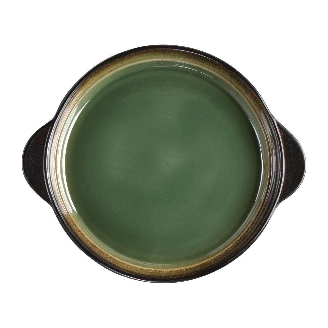 Tapas Round Tray - Green