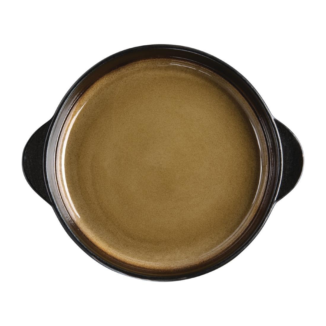 Tapas Round Tray - Yellow