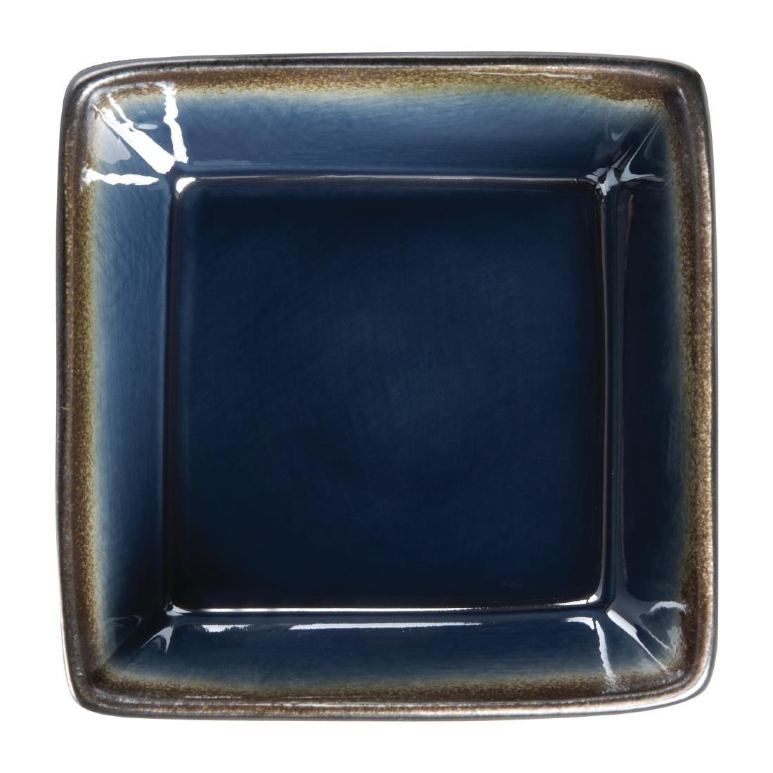 Tapas Square Bowl - Blue