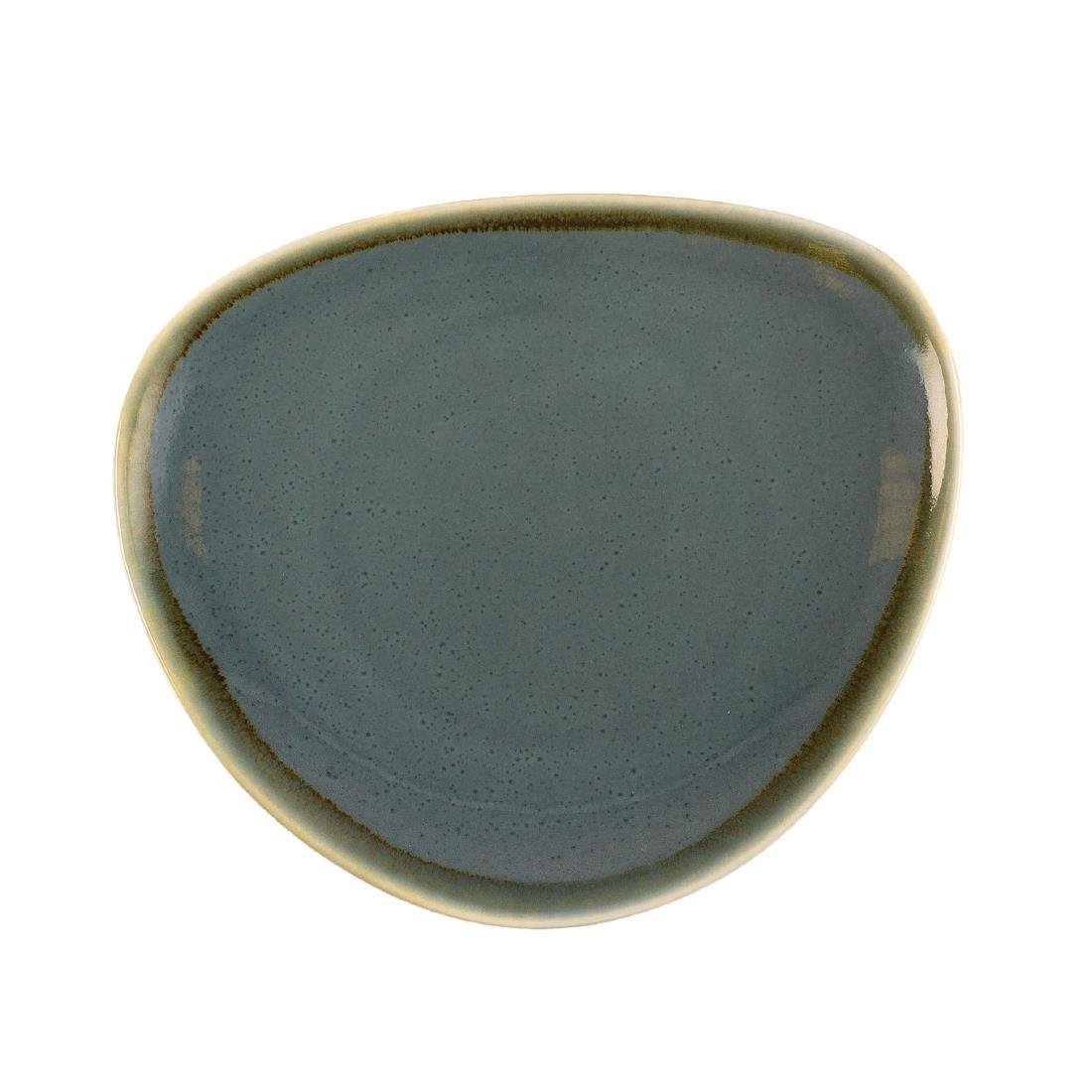 Triangular Plate - Ocean